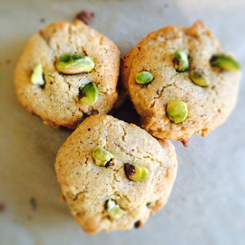 Honey Pistachio Nut Cookies Gluten Free Vegan