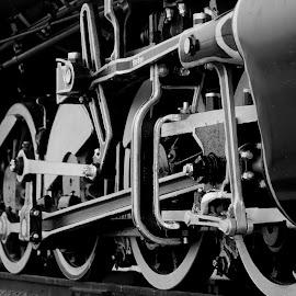 vintage train by Lovnit Singh - Transportation Trains ( vintage train chukchuk gadi train )