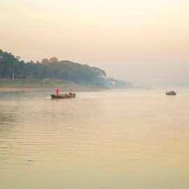 Beauty by Topu Saha - Nature Up Close Water ( mymensingh, beauty, topu saha, river, bangladesh, people, boat )