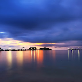 dusk in Derawan by Rozy Fhotography - Landscapes Weather
