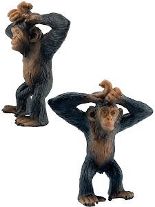 "Игрушка-фигурка серии ""Город Игр"", детеныш шимпанзе M2"