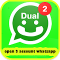 Open 2 Accounts Whatsap Prank