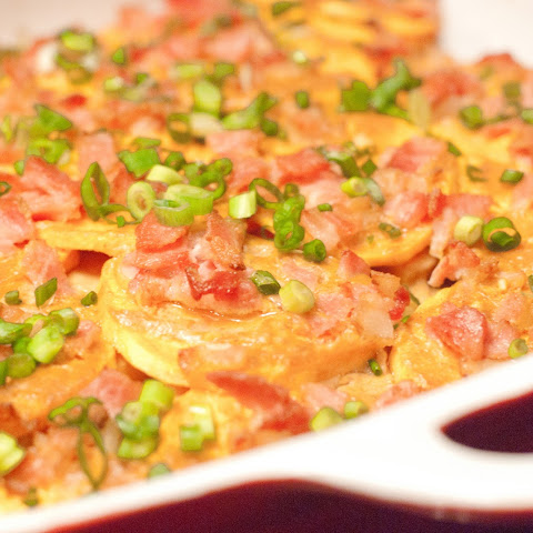 Thai Paleo Scalloped Potatoes With Bacon