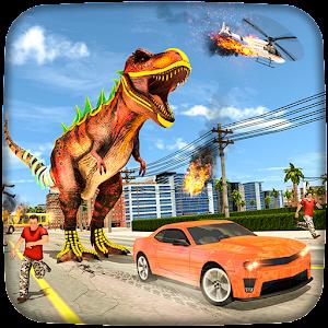 Dinosaur Rampage City Simulator For PC / Windows 7/8/10 / Mac – Free Download