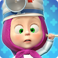 Game Masha and the Bear: Vet Clinic APK for Kindle