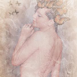 by Stephen Hooton - Digital Art People ( glamour, chantel, people )