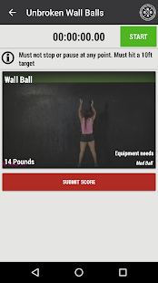 Girls Gone RX Daily Workout - screenshot