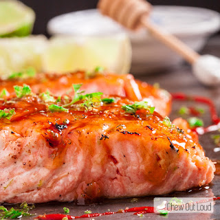 Honey Lime Glazed Salmon