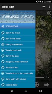 Relax Rain ~ Rain Sounds APK for Bluestacks