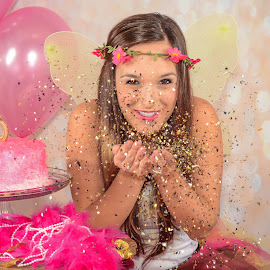 30 years by Marie Burns - People Portraits of Women ( birthday, 30, smash cake, adult, glitter, photo session )