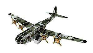 """Конструктор """"3D Action Puzzle"""" Авиация в ассорт 8 штук в дисплей боксе"""