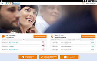 Screenshot of Mutuelle BNP Paribas