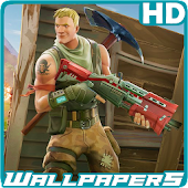 Fortpapers - Battle Royale Wallpapers Icon