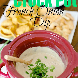 Crock Pot French Onion Dip