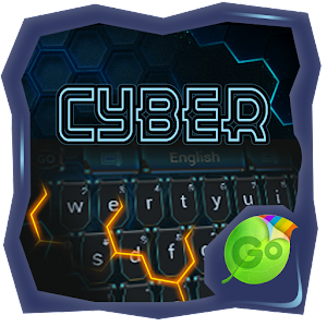 Cyber GO Keyboard Theme  Emoji