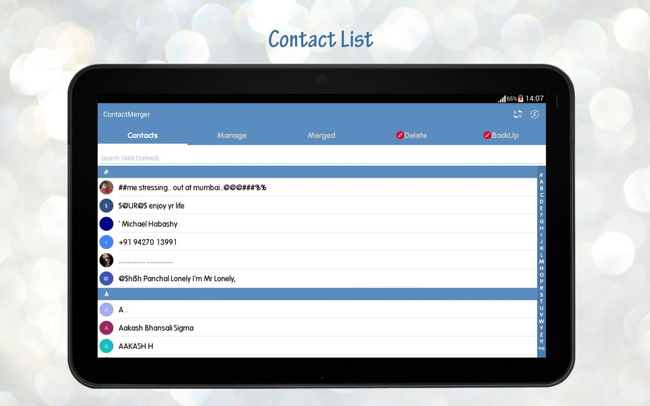 Duplicate Contact Merger Screenshot 9