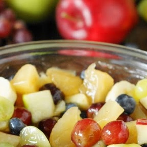 Apple Pie Filling Fruit Salad (Printable recipe)