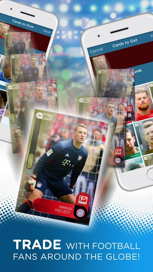 KICK: Football Card Trader Screenshot 2