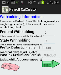 Free Accurate Pay Calculator - NoAd APK for PC