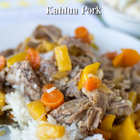 Hawaiian Kahlua Pork with Sweet and Sour Sauce