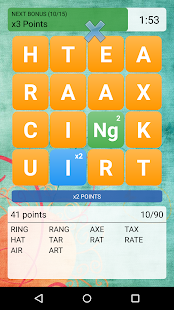 Make Words - screenshot