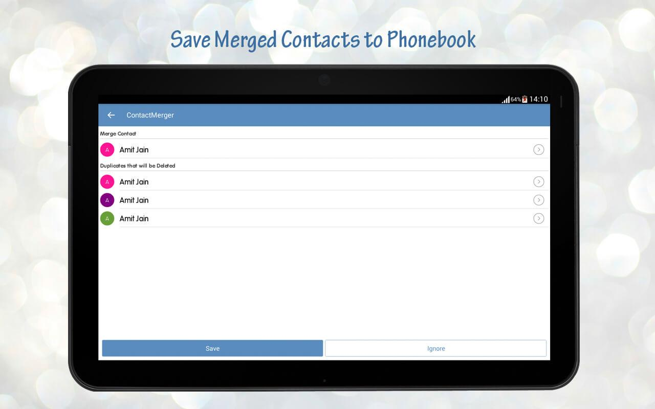 Duplicate Contact Merger Screenshot 12