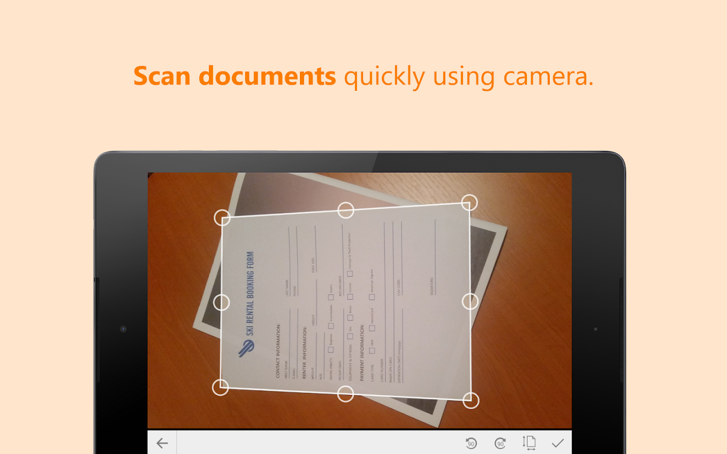 ScanWritr Pro: docs, scan, fax Screenshot 8