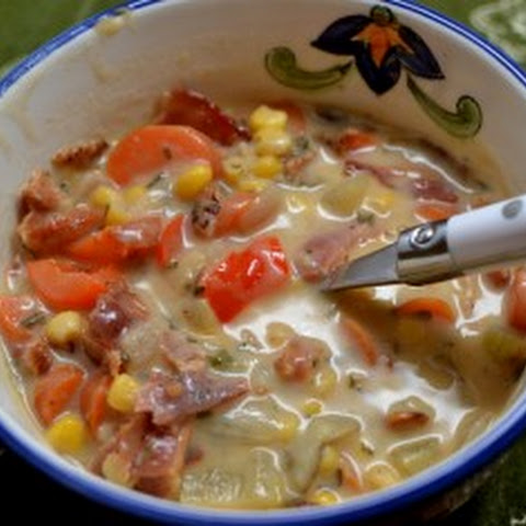 Bacon, Potato, and Corn Chowder