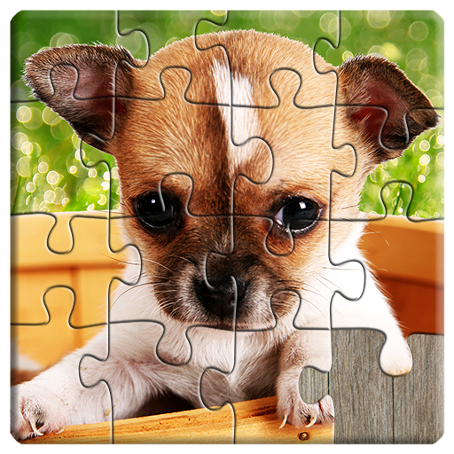 Dogs Jigsaw Puzzles Game - For Kids & Adults 🐶