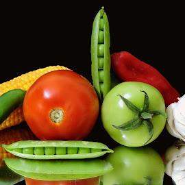 red n green by SANGEETA MENA  - Food & Drink Ingredients