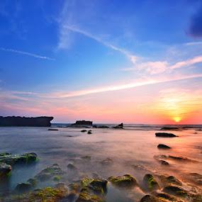by Dharma Jaya - Landscapes Sunsets & Sunrises