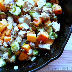 {Recipe Redux} Leftover Meatloaf Hash