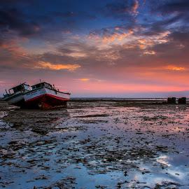 by Arek Embongan - Transportation Boats