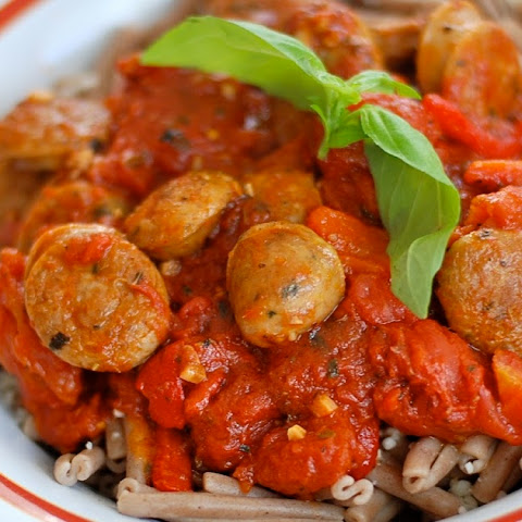 Spicy Italian Chicken Sausage Pasta