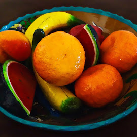 Mexican Fruit Bowl by Michael Villecco - Artistic Objects Still Life
