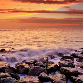 Missing Sunset by Dede GreenHolic - Landscapes Waterscapes
