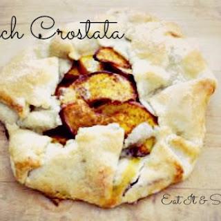 Pie Crust and Peach Crostata