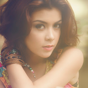 beauty inside me by Lucky  Ariya wijaya - People Portraits of Women