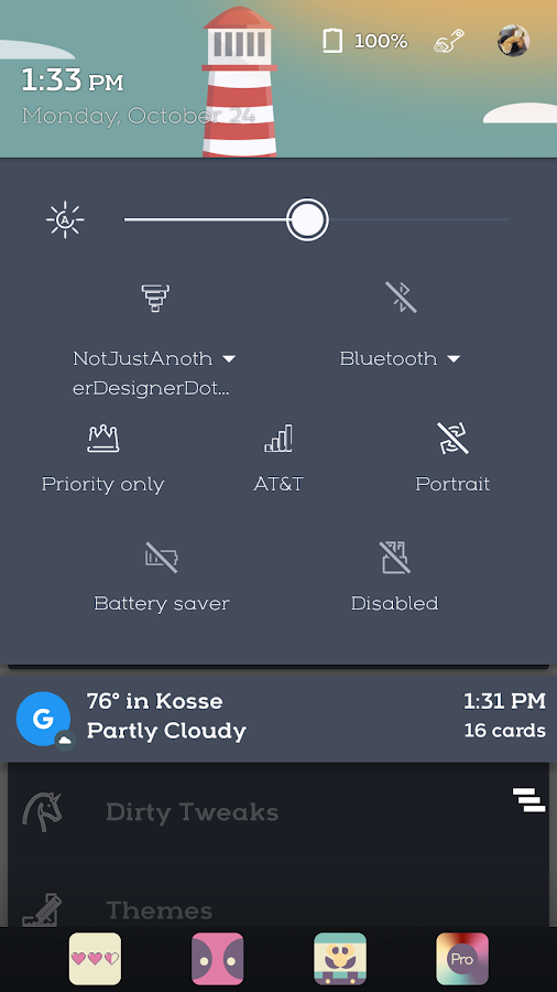 Wavvy -CM 13/12.1 Theme Screenshot
