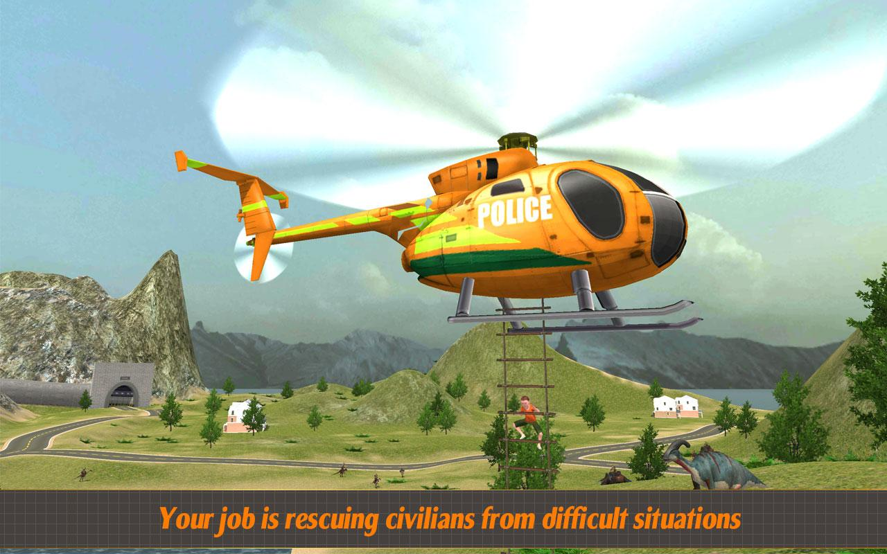 Helicopter Hill Rescue 2017 Screenshot 0