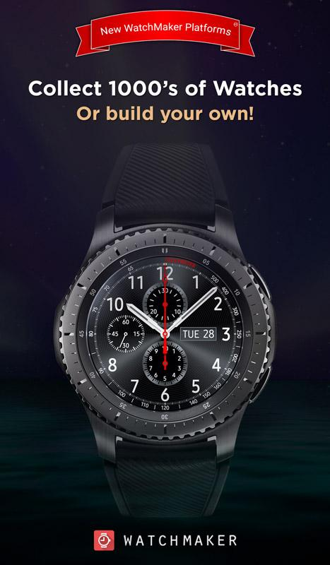 WatchMaker Premium Watch Face Screenshot 0