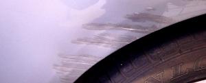 Nissan Micra - Parking scrape