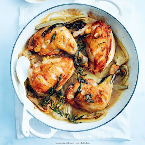 Donna Hay's tarragon and lemon roasted chicken