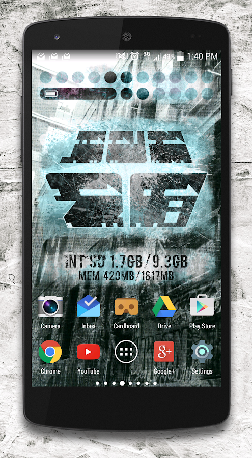 ResinFour Zooper widget pack Screenshot 1