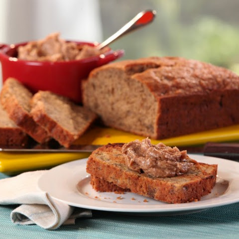 "Banana Bread with Vanilla Bean-""Pecan Butter"
