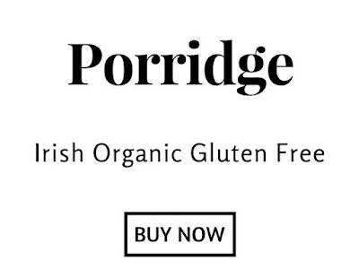Irish organic gluten free porridge oats