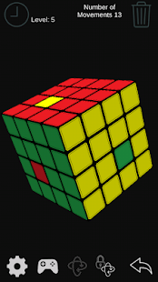 Cube Puzzle 3x3 - screenshot