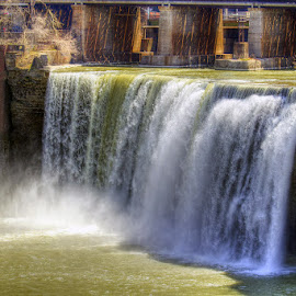 High Falls by JERry RYan - City,  Street & Park  Historic Districts