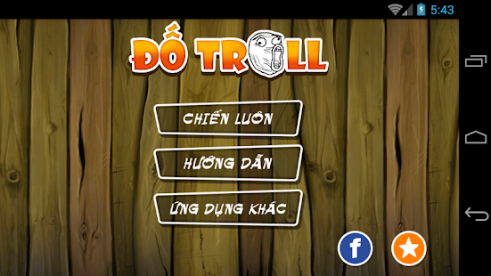 Đố troll - screenshot