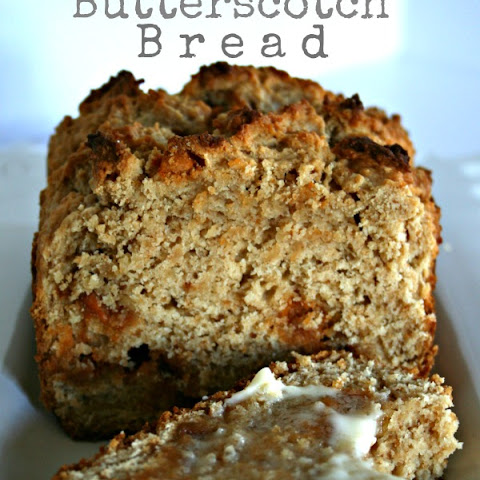 Peanut Butter Butterscotch Bread